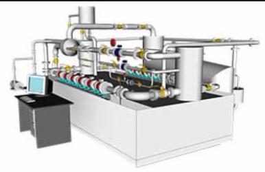 APM расходомерной поверочной установки